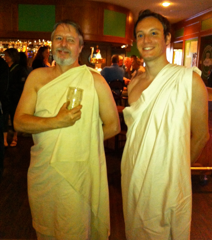 Bringing the Toga back into fashion