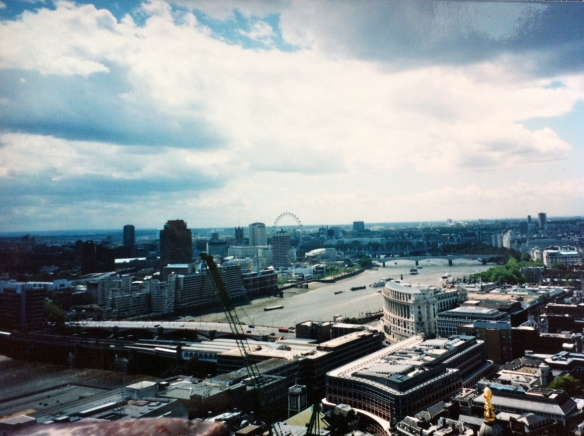London, from the cupola of St Paul's Cathedral.