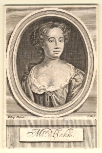 Aphra Behn (née Johnson) by Robert White, after John Riley line engraving, published 1716 5 1/8 in. x 3 3/8 in. (130 mm x 86 mm) paper size Purchased, 1966