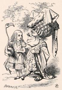 by Sir John Tenniel, from Alice's Adventures in Wonderland by Lewis Carroll, 1865. Courtesy of eBooks@Adelaide