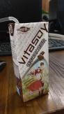 Chocolate soy milk. Yum.