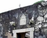 Entrance to Fortaleza do Monte.