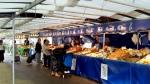Market on Villa de Saxe.