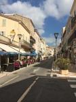 Vallauris' main street.