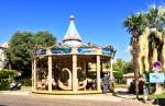Carousel on Place de la Resistance.