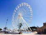 Ferris wheel on the pier!