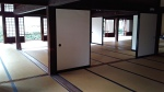 The inside of the Palace. The floors are entirely tatami. When it was in use, the doors would've all been closed.
