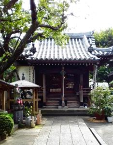The shrine in Yotsuya, Tokyo.